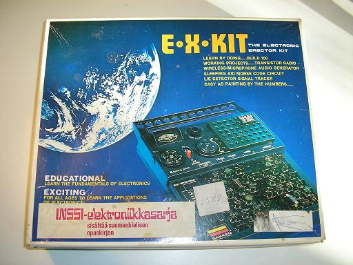 Gakken Electronic Experimenter Kit EX-100
