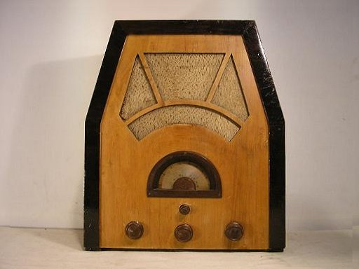 Unknown 5-tube radio